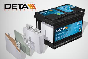 Baterias Deta